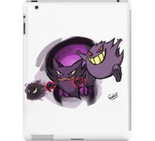 Pokemon Ghosts iPad Case/Skin