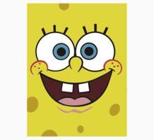 Spongebob Face  Kids Tee