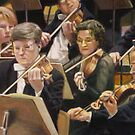 Violin Section by dbclemons