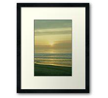 At the Beach 1002 Framed Print