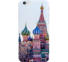 Saint Basils Cathedral iPhone Case/Skin