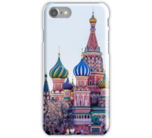 Saint Basils Cathedral iPhone Case/Skin