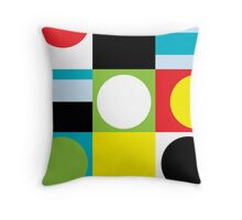 Color Fun Throw Pillow