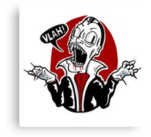 Dracula Vampire Doodle Canvas Print
