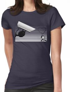Love at first detection... Womens Fitted T-Shirt