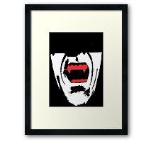 Vampire Teeth Framed Print