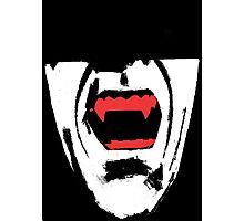 Vampire Teeth Photographic Print