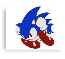Minimalist Sonic 5 Canvas Print
