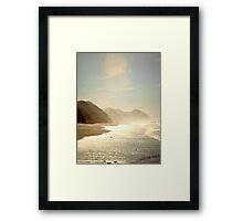 At the Beach 1005.A Framed Print