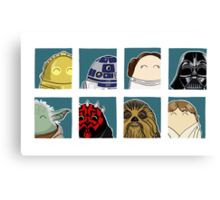 Star Wars Tiggle Profile Canvas Print