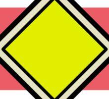Plain Badge Sticker