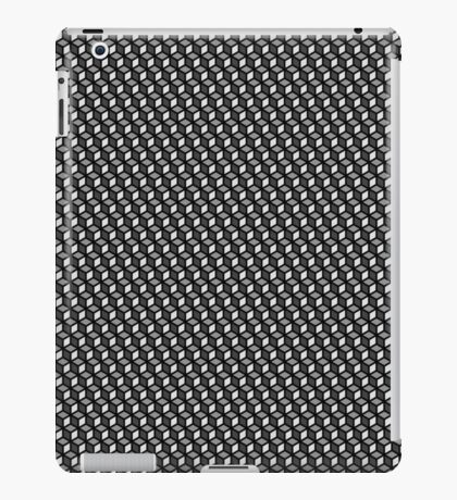 gray cubes  iPad Case/Skin