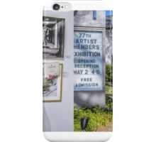 Dancers In The Dark wins an award!!! — at Guild Hall of East Hampton. iPhone Case/Skin