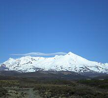 Mt. Ruapehu, My Mountain by vashti Bieber