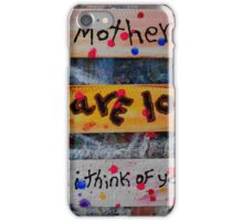 mothers day collage iPhone Case/Skin