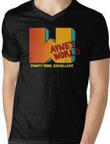 Cable 10 Mens V-Neck T-Shirt