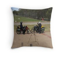 Equipment test Throw Pillow