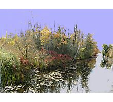 Canal Road River....(Water reflection VI)... Photographic Print