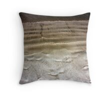 Shapes in the Sand Throw Pillow