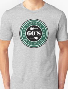 Vintage 60's Rock Music Unisex T-Shirt