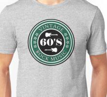 Vintage 60's Rock Music Unisex T-Shirt