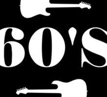 Vintage 60's Rock Music Sticker