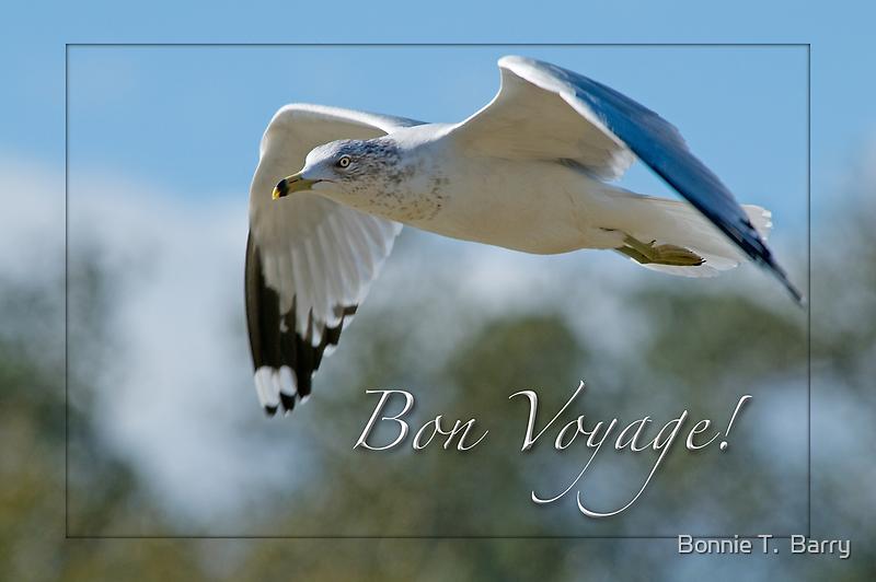 Bon Voyage Greetings by Bonnie T.  Barry