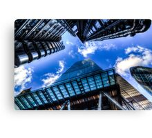 The City Of London Canvas Print