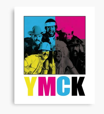 It's fun to play with the...Y.M.C.K! Canvas Print