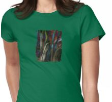 Funky Woods - JUSTART © Womens Fitted T-Shirt
