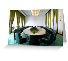 Inside the Presidential Palace - Ho Chi Minh City, Vietnam. Greeting Card