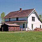 Pylypow House - Ukrainian Cultural Heritage Village near Edmonton, Alberta, Canada by Adrian Paul