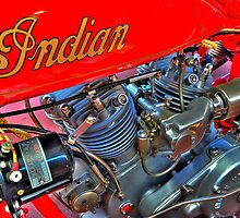 Indian 101 Scout 1928 by Garth Smith