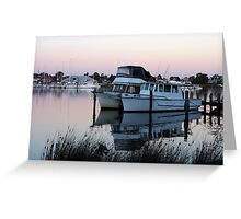 Raymond Island Pier Greeting Card
