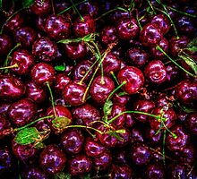 Food - Cherries by luckypixel