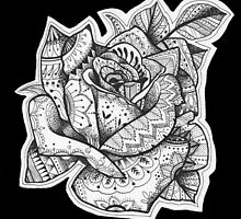 Henna Rose by RobinEArt