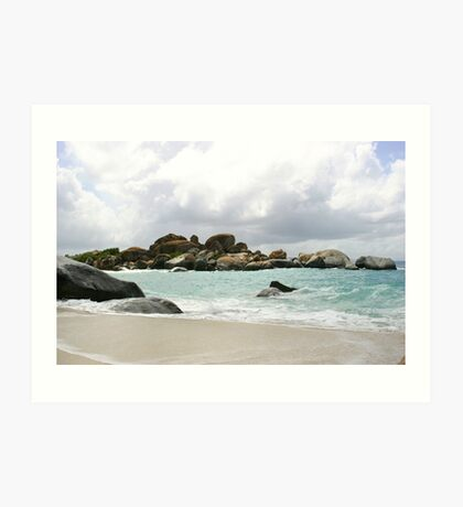 Boulder View at the Baths Art Print
