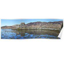Eilean Donan Castle - Panorama Poster