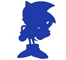 Classic Sonic Silhouette by 4xUlt