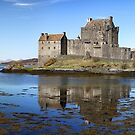 Eilean Donan Castle Panorama by Grant Glendinning