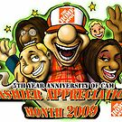 Home Depot Cashier Appreciation Month 2009 by Aestheticz .