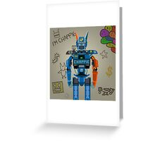 Chappie vector character fanart Greeting Card