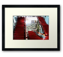 Inside the Presidential Palace IV - Ho Chi Minh City, Vietnam. Framed Print