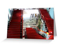 Inside the Presidential Palace IV - Ho Chi Minh City, Vietnam. Greeting Card