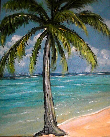 Palm Tree by Pamela Plante