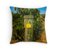Chardonay Throw Pillow