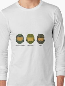 Halo - Spartans never die. Long Sleeve T-Shirt