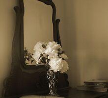 Dresser & Peonies by Cassy Greenawalt