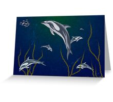Sea Family Greeting Card