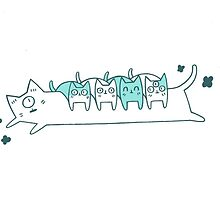 Long cat by geethis
